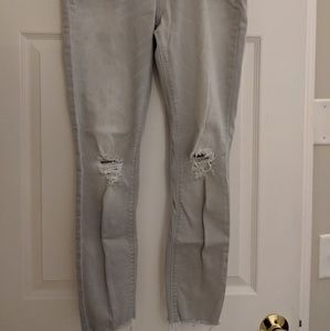 Gray Express jean leggings